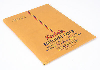 Kodak 5X7 Wratten Series 3 Safelight Filter/194314