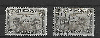 Canada. 1928. Airs. mm & used. (2)