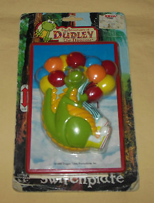 Vtg 1995 The Adventures Of Dudley The Dragon Tales Light Switch Plate New & Rare