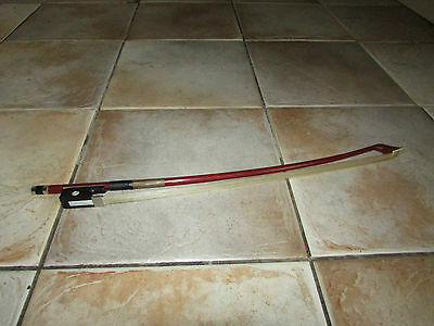 Musical Instrument Excellent Quality Horse Hair Double Bass Bow 1/2 Size