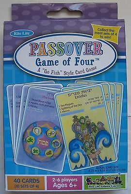 Passover Game of Four Go Fish Style Card Game 2008 Rite Lite