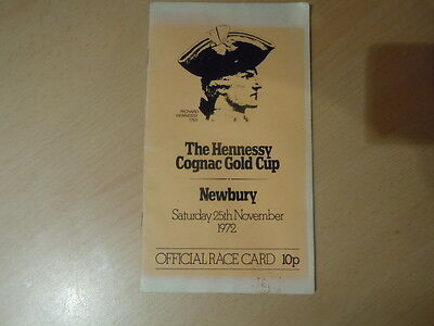 The Hennessy Cognac Gold Cup 1972 Newbury