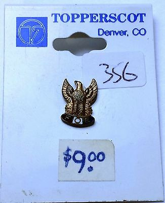 Vintage FOE Fraternity of the Eagle Lapel Screw-Back Pin / Medal - Combined S/H