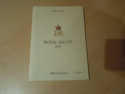 The St James Palace Stakes Royal Ascot 2002 - ROCK OF GIBRALTAR