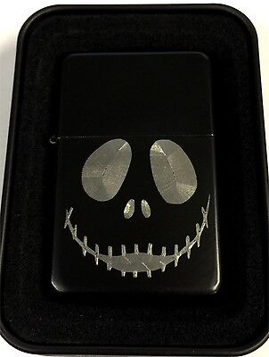Nightmare Before Christmas Jack Black Engraved Cigarette Lighter LEN-0218