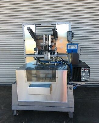 SWF 1T4 Automatic Tray Former with Nordson 3500 Glue System