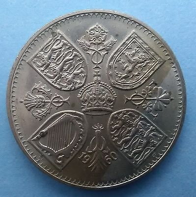 1960 CROWN coin (Queen Elizabeth II) 5 shillings