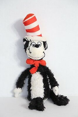 Dr. Seuss Cat in the Hat (Manhattan Toy Co) Finger Puppet Plush Toy Doll