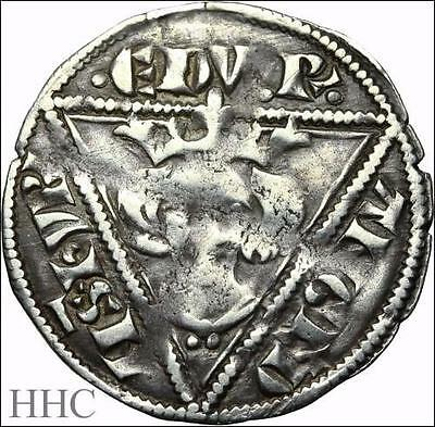 IRELAND. Edward I Silver Penny, Waterford mint, Rare. SCBC 6254 (SKU #F160)