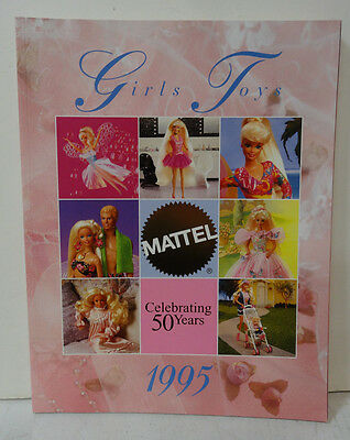 Mattel 1995 Girls Toy Fair Toy Catalog Barbie Disney Polly Pocket- 154 pages