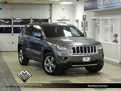 2011 Jeep Grand Cherokee Overland Sport Utility 4-Door 11 jeep grand cherokee overland 4wd navi gps pano roof heated cooled 20 inches