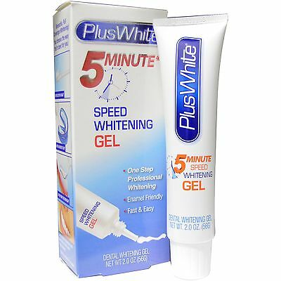 Plus White 5 Minute Premier Whitening Bleach Gel 2 ounce