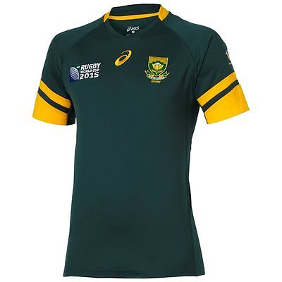 South Africa Springboks 2015 Rugby World Cup Jersey Size MEDIUM