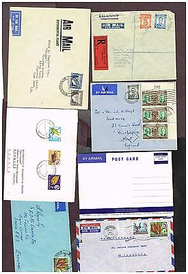 Southern Rhodesia Airmail Registered Etc  (Sp12,1