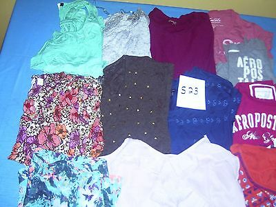 Lot Of Womans Clothes Size Xl Lot Of 12  #s23