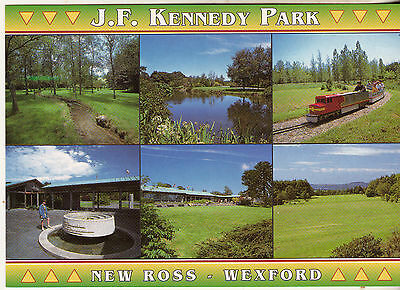 J.F. KENNEDY PARK NEW ROSS WEXFORD 1990s-2000s POSTCARD UNPOSTED JOHN HINDE 2/WX
