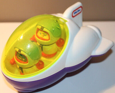Little Tikes Rocket Ship and 2 Astronauts Space Shuttle 0811