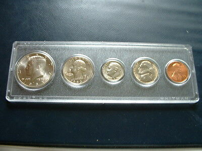 1983-D Denver Uncirculated Nickel, Copper Clad 5-Coin Set Business Strike