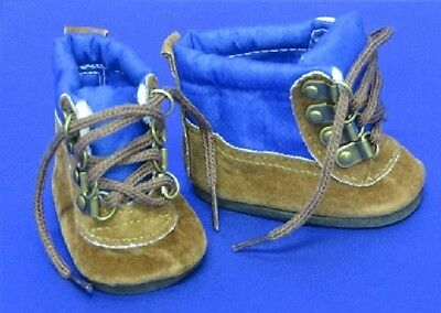 """Hiking Boots for American Girl / Boy 15 - 18 """" inch Doll Shoes LOVVBUGG US SELLR"""