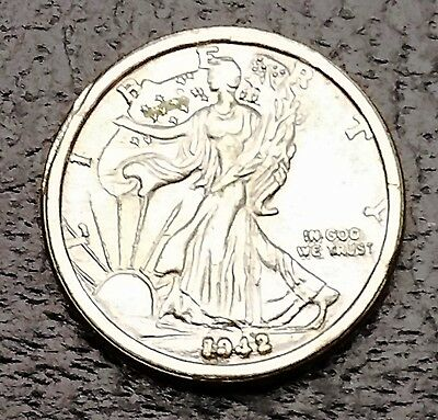 *Mini Coin* 1942 Walking Liberty Half Dollar - FREE COMBINED S/H