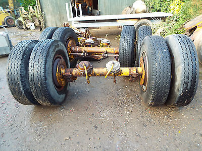 Trailer axle ideal for farm trailer or a project