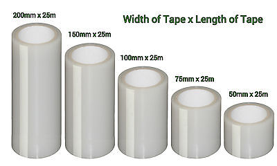 All Weather Proof Tape Clear Transparent High Stick Water Resistant