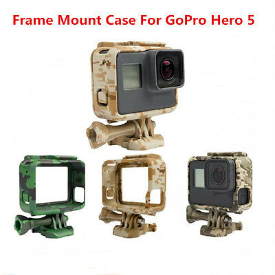 Camo Design Standard Frame Mount Shell Protective Housing Case For GoPro Hero 5
