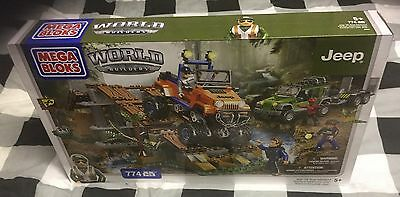 Mega Bloks - World Builders - Jeep Off-Road Adventure - Brand New And Boxed