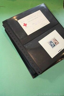 RED CROSS FRANCE Unique Stamp Collection EPC EPL EPA Booklets Covers