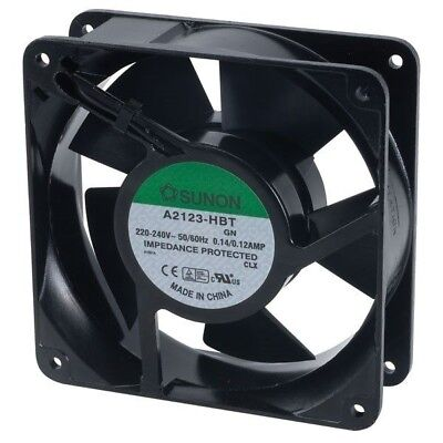 SUNON® A 2123HBT.GN Axial Fan 230V AC 120 x 120 x 38mm