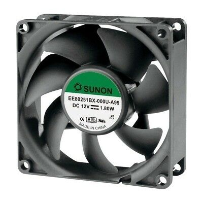 SUNON® EE80251BX-000U-A99 DR Brushless Axial Fan 12V DC 80 x 80 x 25mm