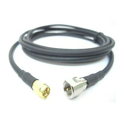Siretta ASMA300E058S13 SMA Male To FME Male 3m RG58 Cable Assembly