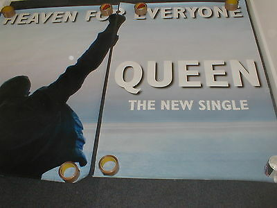 Queen Heaven For Everyone  Huge Bus Stop Poster. Official 1995 Promo Poster
