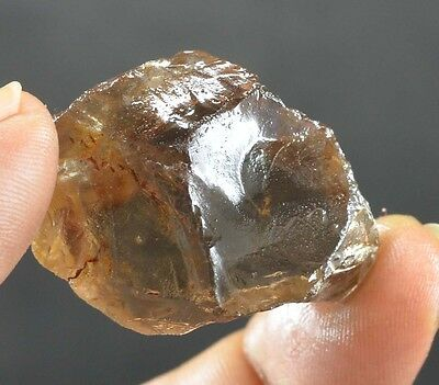 92 Ct Awesome Natural 100 % Translucent Smokey Quartz Rough  Ebay Gemstone @**