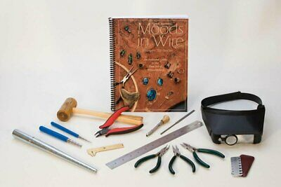 Advanced Wire Wrapping Jewelry Making Wireworking Set Book Pliers Mandrel & More