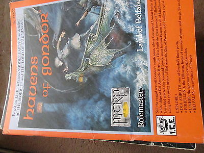 Merp Havens Of Gondor Vgc + Map Lord Ring Jrr Tolkien Middle Earth Ice Sb