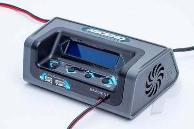 Radient RDNA0045 Ascend LCD Multi-Chem LiPo NiMH 6A Fast Balance Charger (UK)