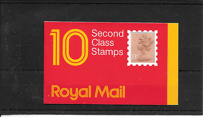 GB 1987 Barcode £1.30 Booklet - GI 1 - Square Tab - Code G - Cyl No