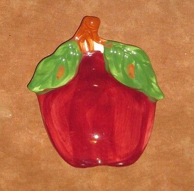 Vintage Franciscan Apple Butter Pat Or Ash Tray