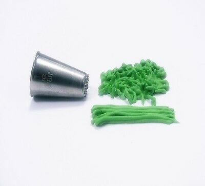 Jem Cake & Sugarcraft - Piping Icing Nozzle - Grass / Fur Tube Small - No. 233