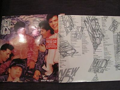 Step by Step by New Kids on the Block vinyl LP 1990