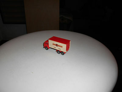 Matchbox Superfast 42 England vintage Mercedes Container Truck 100% Decals Top