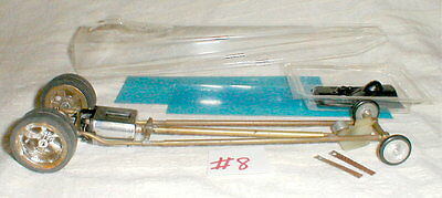 Brass Rail Dragster with streamline body + Cox 16D Mabuchi Motor 1/24th scale #8