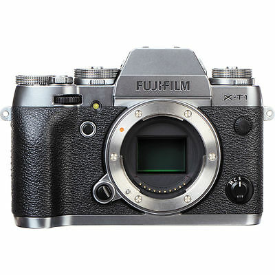 Fujifilm X-T1 16.3 MP Mirrorless Digital Camera Body Graphite Silver Edition UU