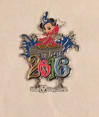 New Walt Disney World 2016 Sorcerer Mickey Mouse Refrigerator Metal Magnet