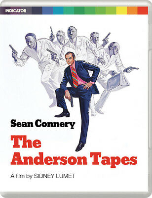 The Anderson Tapes Blu-Ray (2017) Sean Connery ***NEW***