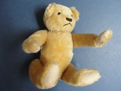 "Schoonmaker - Deans Bear - 13"" - Jointed -  Pontypool Gwent UK with Ribbon -NICE"