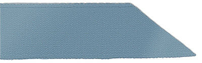 Signature Double Face Satin Ribbon - 338 Antique Blue - 7mm - Full Roll