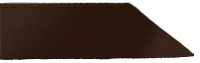 Signature Double Face Satin Ribbon - 850 Brown - 23mm - Full Roll