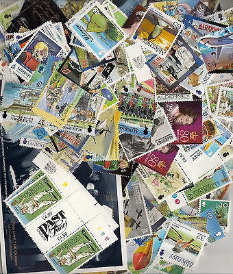 ALDERNEY DISCOUNT POSTAGE with GUM AT 50% of FACE VALUE £50 = £25 OFF